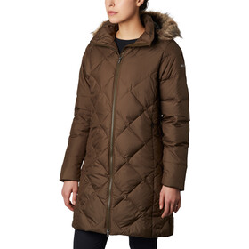 Columbia Icy Heights II Mittellange Daunenjacke Damen olive green